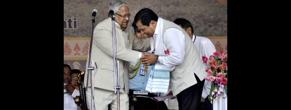 Sonowal sworn-in as Assam CM: BJP knocks on the doors of the northeast