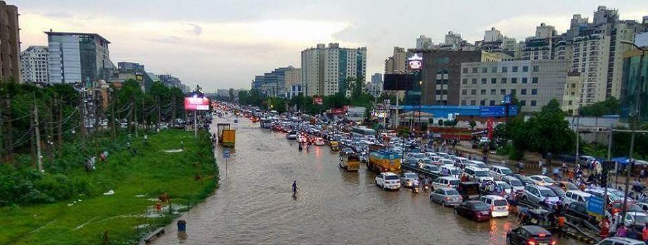 Rain wrecked, jammed Gurgaon deserves name it got from Khattar government