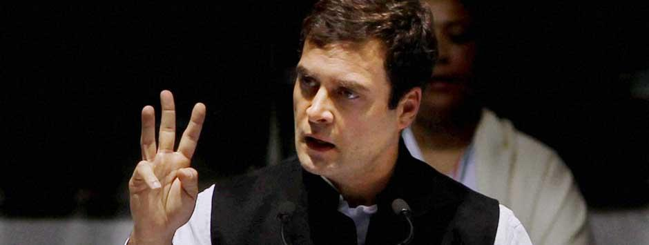 Rahul Gandhi's U-turn on RSS role in Mahatma's killing shows he's a weak leader
