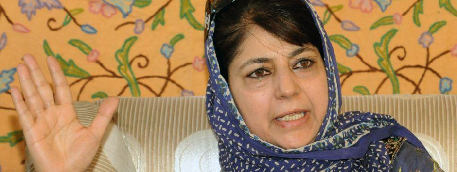 'Poor children used as shields in Kashmir': Emotional Mehbooba takes firm stand