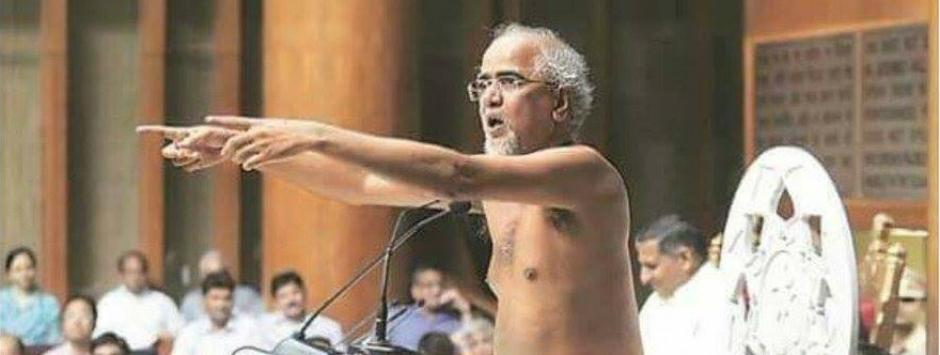 Outrage over Tarun Sagar's nudity silly, cocktail of dharma and politics real poison