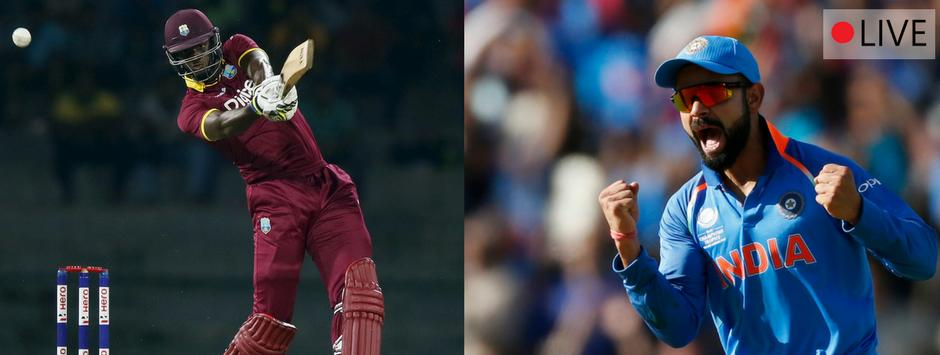 India vs West Indies 2017, live score and cricket updates, 1st ODI in Port of Spain: Holder gets rid of Yuvraj