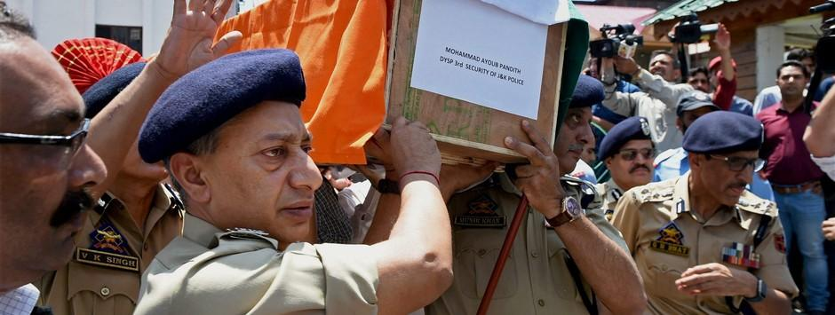 Killing of DSP Ayub Pandith shows Islamic radicalisation is now firmly rooted in Kashmir