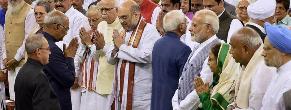 Ram Nath Kovind swearing in as 14th president marks the epitaph of ruling elites' first claim to power