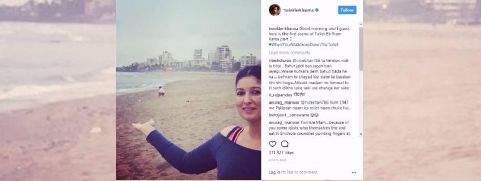 How Twinkle Khanna's tweets against open defecation turned into Toilet: Ek Privilege Ki Katha
