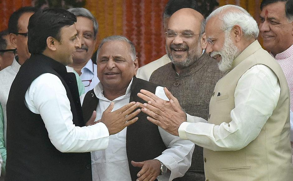 Modi, Akhilesh, and Mulayam, and some conversations that may have taken place... or maybe not