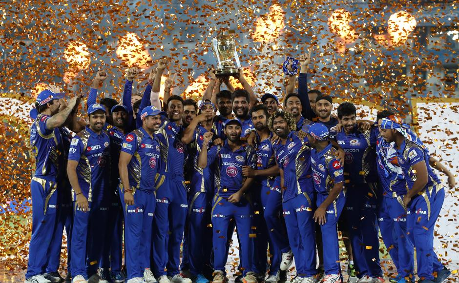 Mumbai Indians claim third IPL title with stunning last-ball finish against Rising Pune Supergiant