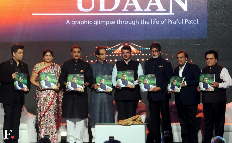 Praful Patel's biography launched, with film, politics and business personalities in attendance