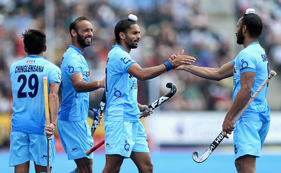 Indian hockey team register biggest ever win against Pakistan at Hockey World League Semi-Final