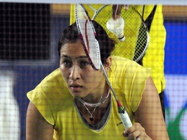 File phot of Jwala Gutta. AFP