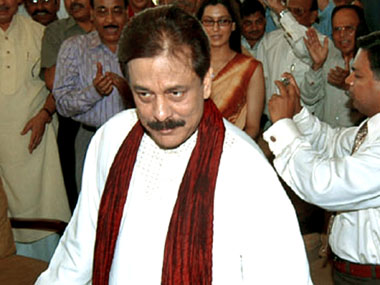 Subroto Roy, chairman, Sahara India