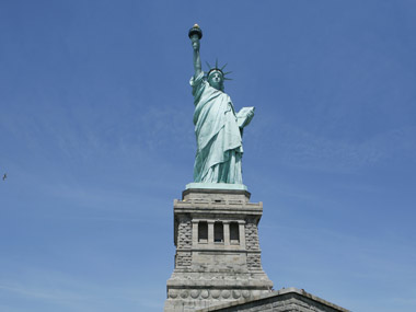 Statue of Liberty. Reuters