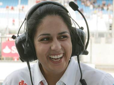 Monisha Kalten Born is the CEO of the Sauber team. IBNLive