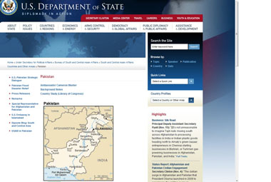 A Screen Grab Of The Us State Department