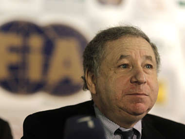 File picture of FIA President Jean Todt. Reuters