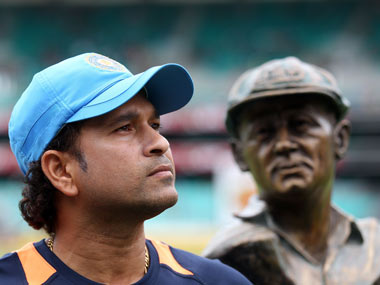 Tendulkar stands alone at the top. Getty Images