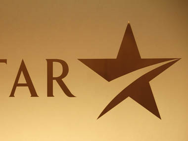 A company logo of Star TV is seen at its headquarters in Hong Kong. Reuters