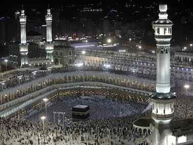 Grand mosque, Mecca. Reuters