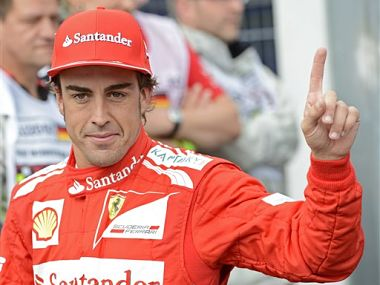 Fernando Alonso drove brilliantly once again. AP