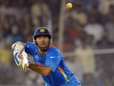 Are the selectors giving Yuvraj false hope? AFP