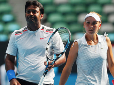 Paes-Vesnina have a chance to win it all. Reuters