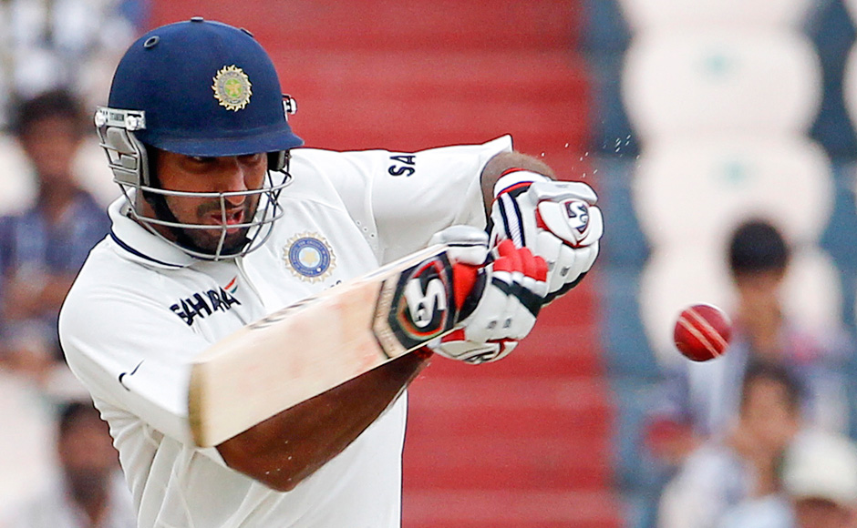 Pujara continued his solid innings from yesterday. A few quality strokes saw him race to 150 runs. Reuters