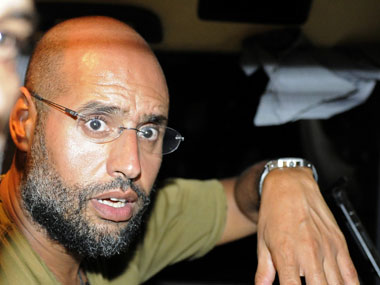 File photo of Saif-Al-Islam. Reuters