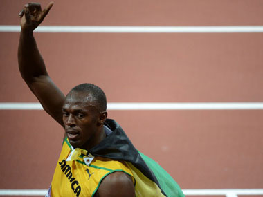 Usain Bolt begins quest to win 200m gold today. AFP