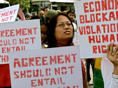 The economic blockade in Manipur started on 1 November last year and continues till date. PTI