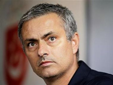 Real Madrid coach Jose Mourinho attends a news conference in Singapore. Reuters