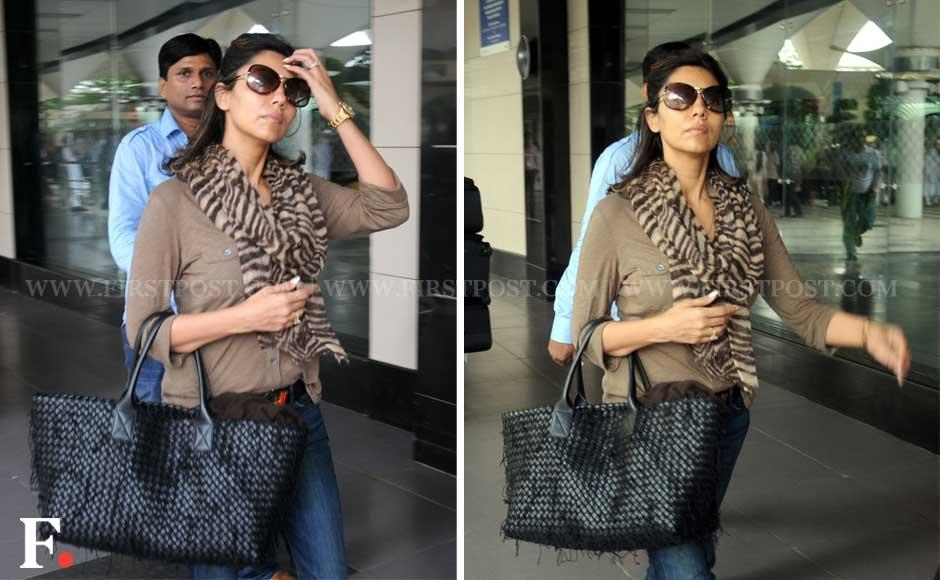 Gauri Khan flew back to Mumbai on Sunday morning, after dropping off her son Aryan to a boarding school in the UK and settling him in. Sachin Gokhale/Firstpost