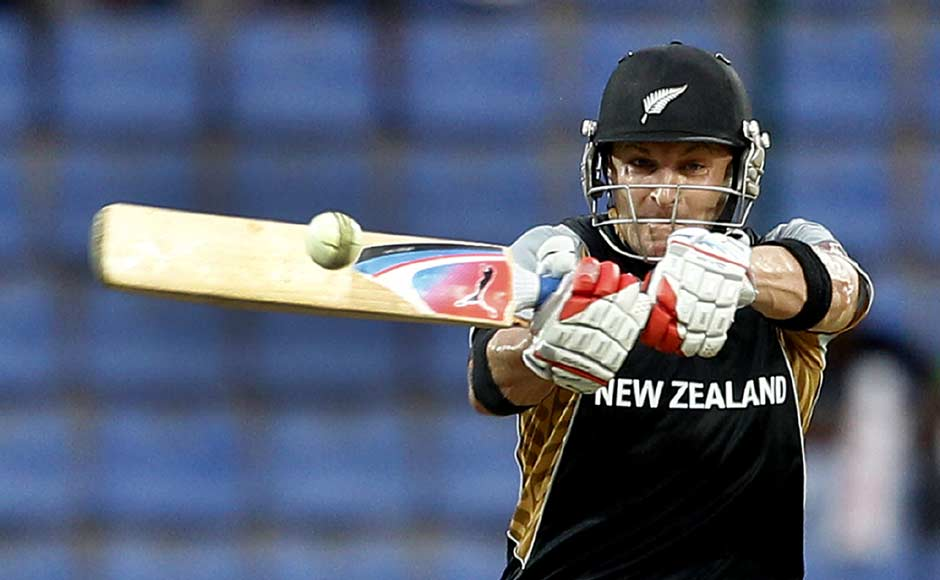 With this swashbuckling innings, McCullum became the first cricketer to score two centuries in Twenty20 Internationals. AP