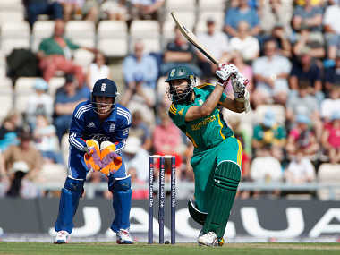 Amla was in good touch for South Africa. Getty Images
