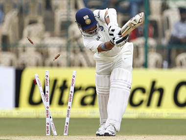 Sachin Tendulkar needs to get his act right. AP