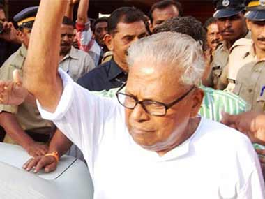 CPM veteran VS Achuthanandan. Image courtesy News18