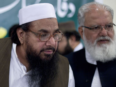 File image of Hafeez Saeed. AP