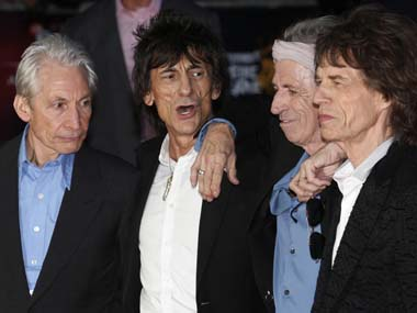 The Rolling Stones. Reuters