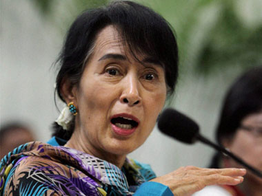 File image of State Counsellor of Myanmar Aung San Suu Kyi. PTI
