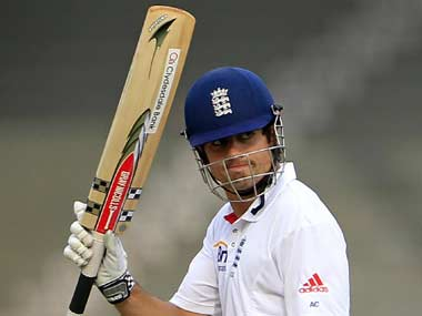 Cook has been superb for England. AP