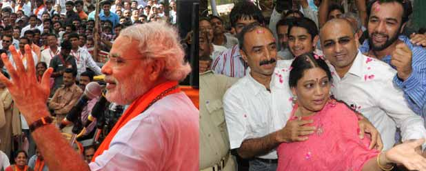 Fielding IPS Sanjiv Bhatt's wife against Modi is wrong
