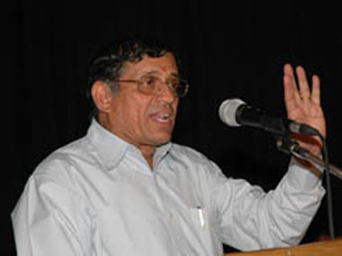 S Gurumurthy. File photo. Reuters