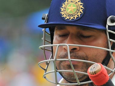 What's Sachin thinking? AFP