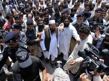 Hafiz Saeed is among those facing trial for their involvement in the attacks. AFP