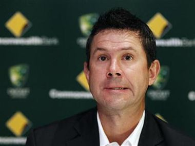 Australian cricket player Ricky Ponting speaks during a news conference in Sydney. Reuters