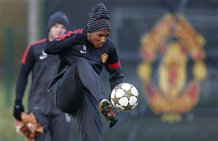 Man United have a tough 9 days coming up. Reuters
