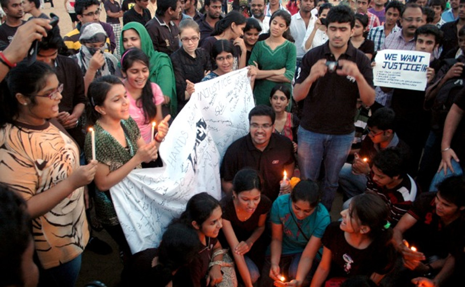 The protest against rape in Chennai. Firstpost