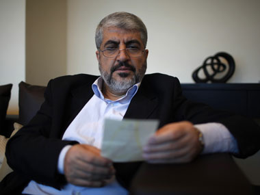 File image of Hamas leader Mashaal. Reuters.