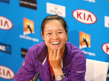 Li Na has had a superb tournament. Getty Images
