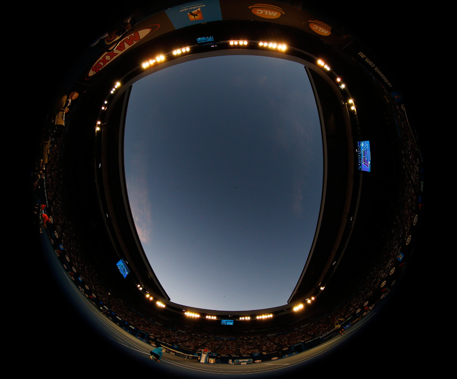 The Fish Eye view. Reuters