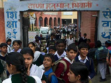 A school in Bhiwani. Naresh Sharma/Firstpost
